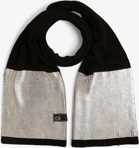 Srebrny szalik Calvin Klein