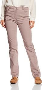 Brązowe jeansy Brax w młodzieżowym stylu