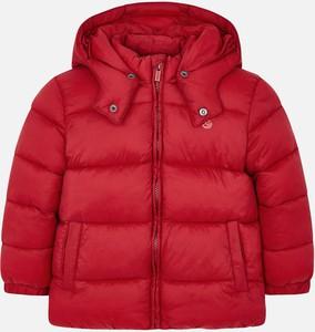 Czerwona kurtka dziecięca Mayoral z tkaniny