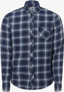 Niebieska koszula Redefined Rebel z klasycznym kołnierzykiem