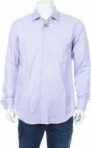 Fioletowa koszula Ign. Joseph z długim rękawem