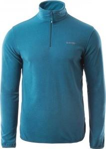 Niebieska bluza sklepiguana z plaru