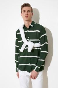 Koszula Trendyol z długim rękawem z klasycznym kołnierzykiem