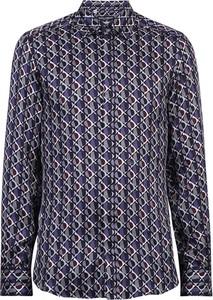 Niebieska koszula Dolce & Gabbana w młodzieżowym stylu z długim rękawem