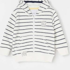 Bluza dziecięca Reserved w paseczki z bawełny