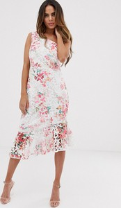 Sukienka Lipsy z okrągłym dekoltem