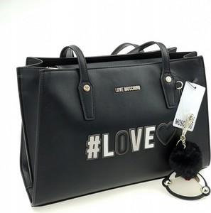 Czarna torebka Love Moschino duża