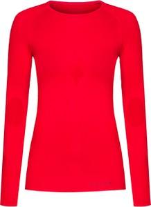 Czerwony t-shirt Falke