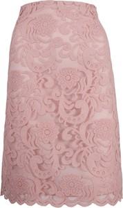 Różowa spódnica Slava midi