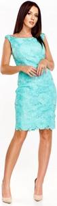 Sukienka Only Exclusive z okrągłym dekoltem