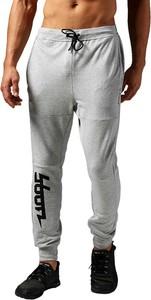 Spodnie sportowe Reebok z bawełny