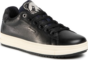 Buty sportowe Geox sznurowane na platformie