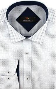 Koszula Triwenti z długim rękawem z tkaniny