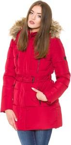 Czerwony płaszcz Pepe Jeans