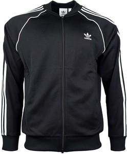 Czarna bluza Adidas z dresówki