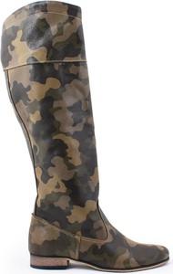 Zapato kozaki - skóra naturalna - model 125 - kolor moro