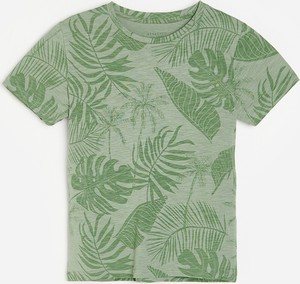Turkusowa koszulka dziecięca Reserved