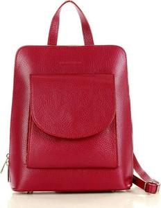 Czerwony plecak Merg