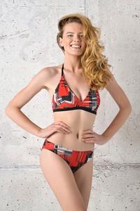 Czerwony strój kąpielowy Nessi Sportswear