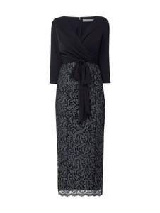 Sukienka Christian Berg Cocktail z długim rękawem maxi