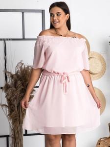 Sukienka KARKO mini hiszpanka