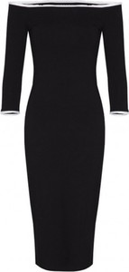 Czarna sukienka Kasia Miciak design midi