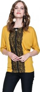 Żółta bluzka L'AF