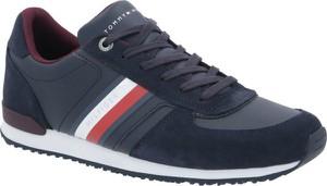 Tommy Hilfiger Sneakersy ICONIC | z dodatkiem skóry