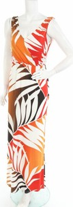 Sukienka M&co. maxi z dekoltem w kształcie litery v w stylu casual