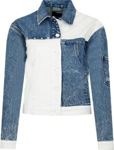 Kurtka Desigual z jeansu krótka w stylu casual