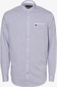 Niebieska koszula Napapijri z długim rękawem