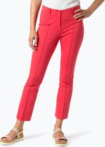 Różowe spodnie Marc Cain Collections w stylu casual