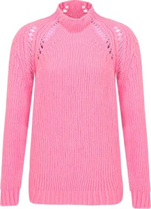 Różowy sweter Max & Co. w stylu casual z wełny