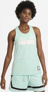 T-shirt Nike z okrągłym dekoltem z bawełny w sportowym stylu