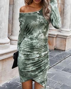 Sukienka Kendallme z długim rękawem bodycon mini