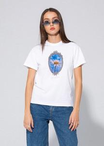 T-shirt LOCAL HEROES z okrągłym dekoltem w młodzieżowym stylu