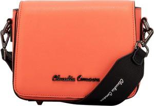 Różowa torebka Claudia Canova średnia