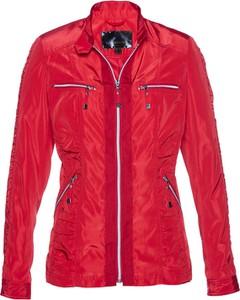 Czerwona kurtka bonprix bpc selection w sportowym stylu