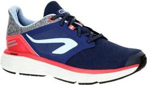 Granatowe buty sportowe Kalenji sznurowane