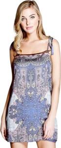 Sukienka Guess mini na ramiączkach