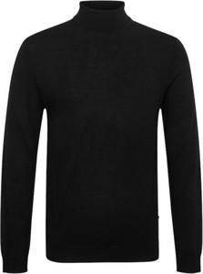 Czarny sweter Matinique z golfem w stylu casual