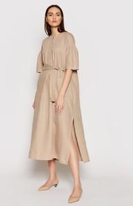Sukienka MaxMara z długim rękawem w stylu casual