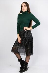 Czarna spódnica Olika z tiulu midi