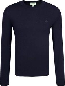 Sweter Lacoste w stylu casual z wełny