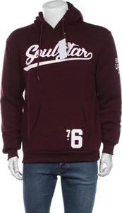 Fioletowa bluza Soulstar w młodzieżowym stylu