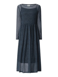 Sukienka Vila w stylu casual z okrągłym dekoltem midi