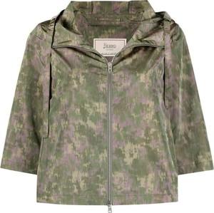 Zielona kurtka Herno