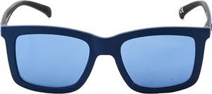 Niebieskie okulary damskie Adidas