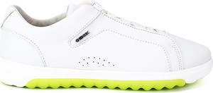 Buty sportowe Geox w młodzieżowym stylu ze skóry sznurowane