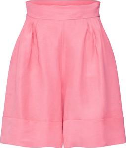Różowe szorty iBlues w stylu casual